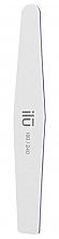Düfte, Parfümerie und Kosmetik Doppelseitige Nagelfeile 180/240 Trapez - Ilu White Diamond File Grid 180/240