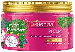 Düfte, Parfümerie und Kosmetik Festigendes Zuckerpeeling für den Körper mit Drachenfrucht - Bielenda Exotic Paradise Peel