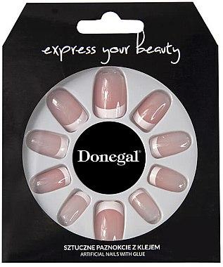 Künstliche Fingernägel French inkl. Kleber - Donegal Express Your Beauty — Bild N1