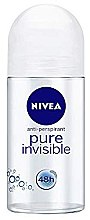 Düfte, Parfümerie und Kosmetik Deo Roll-on Antitranspirant - Nivea Roll-On Women Pure Invisible