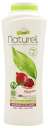 Shampoo für trockenes Haar mit natürlichem Granatapfelextrakt - Winni's Naturel Shampoo Melograno — Bild N1