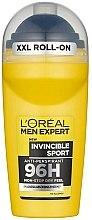 Düfte, Parfümerie und Kosmetik Deo Roll-on Antitranspirant - L'Oreal Paris Men Expert Invincible Sport 96H Roll On