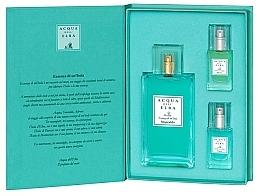 Düfte, Parfümerie und Kosmetik Acqua Dell Elba Acqua - Duftset (Eau de Parfum 100ml + Eau de Parfum Mini 15ml + Eau de Parfum Mini 15ml)