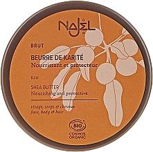Düfte, Parfümerie und Kosmetik Pflegendes Gesichts-, Körper- und Haaröl mit Sheabutter - Najel Organic Shea Butter