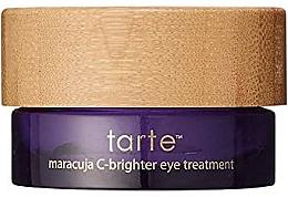 Düfte, Parfümerie und Kosmetik Feuchtigkeitsspendende und aufhellende Augencreme mit Maracuja und Vitamin E - Tarte Cosmetics Maracuja C-Brighter Eye Treatment