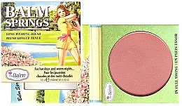 Düfte, Parfümerie und Kosmetik Langanhaltendes Rouge - theBalm Balm Springs Long-Wearing Blush