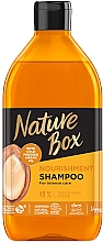 Düfte, Parfümerie und Kosmetik Intensiv pflegendes Shampoo mit Arganöl - Nature Box Nourishment Vegan Shampoo With Cold Pressed Argan Oil