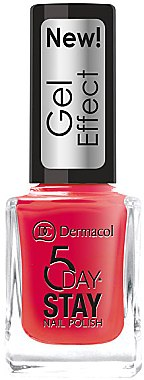 Nagellack - Dermacol 5 Day Stay Gel Effect Nail Polish — Bild N1