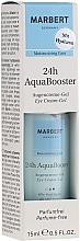 Düfte, Parfümerie und Kosmetik Feuchtigkeitsspendendes Augencreme-Gel - Marbert 24h AquaBooster