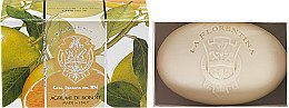 Düfte, Parfümerie und Kosmetik Seife in Box Zitrusfrucht aus Boboli-Garten - La Florentina Bath Soap