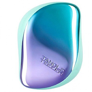 Kompakte Haarbürste - Tangle Teezer Compact Styler Petrol Blue Ombre — Bild N1