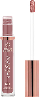 Flüssiger matter Lippenstift - Boys'n Berries Matte Liquid Lipstick Nudelicious — Bild N1