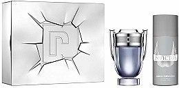 Düfte, Parfümerie und Kosmetik Paco Rabanne Invictus - Duftset (Eau de Toilette 100ml + Deodorant 150ml)