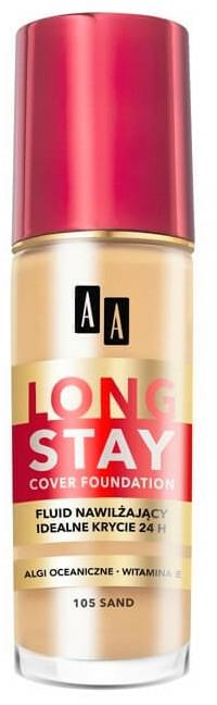 Langanhaltende Foundation - AA Cosmetics Long Stay Cover Fluid — Bild N1