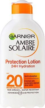 Sonnenschutzmilch SPF 20 - Garnier Ambre Solaire — Bild N1