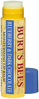 Lippenbalsam - Burt's Bees Revitalizing Blueberry & Dark Chocolate Lip Balm — Bild N1
