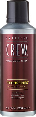 Auffrischendes Stylingspray mit mittlerem Halt für längeres Haar - American Crew Official Supplier to Men Techseries Boost Spray — Bild N2