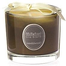 Düfte, Parfümerie und Kosmetik Duftkerze im Glas Sandalwood - Millefiori Milano Via Brera Candle Sandalwood