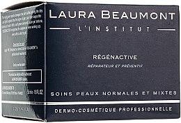 Düfte, Parfümerie und Kosmetik Regenerierende Nachtcreme für normale und Mischhaut - Laura Beaumont Regenactive Night Care