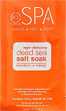 Körperpflegeset - BCL SPA Manicure & Pedicure Mandarin + Mango (Peeling 28gr + Salze 14gr + Maske 15ml + Creme 15ml) — Bild N2
