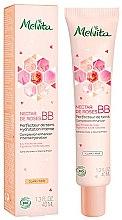 Düfte, Parfümerie und Kosmetik Feuchtigkeitsspendende Bio BB Creme mit Rosenblütenwasser - Melvita Nectar De Roses Organic BB Cream