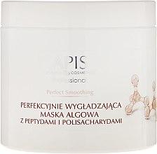 Düfte, Parfümerie und Kosmetik Glättende Algenmaske für das Gesicht mit Peptiden und Polysacchariden - APIS Professional Perfect Smoothing Algae Mask