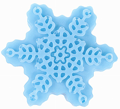 Düfte, Parfümerie und Kosmetik Handgemachte Naturseife Schneeflocke mit Fruchtduft - LaQ Happy Soaps Natural Soap