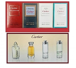 Düfte, Parfümerie und Kosmetik Cartier Perfume Mini Set For Men - Duftset (Eau de Toilette 4ml + Eau de Toilette 2x5ml + Eau de Parfum 5ml)
