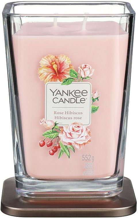 Duftkerze im Glas Rose Hibiscus - Yankee Candle Elevation Rose Hibiscus — Bild N5