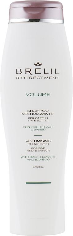 Shampoo für Haarvolumen mit Bachblüten und Bambus - Brelil Bio Treatment Volume Shampoo — Bild N1