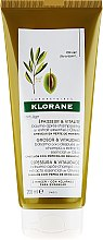Düfte, Parfümerie und Kosmetik Haarspülung - Klorane Thickness & Vitality Conditioner With Essential Olive Extract