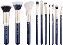 Düfte, Parfümerie und Kosmetik Make-up Pinselset T483 10 St. - Jessup