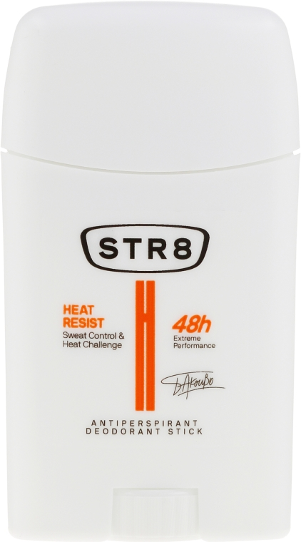 Deostick Antitranspirant - STR8 Heat Resist Antiperspirant Deo-Stick — Bild N1