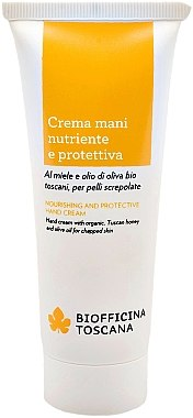 Handcreme - Biofficina Toscana Nourishing And Protective Hand Cream — Bild N1