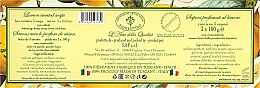 Seifenset Zitrone - Saponificio Artigianale Fiorentino Lemon Soap — Bild N3