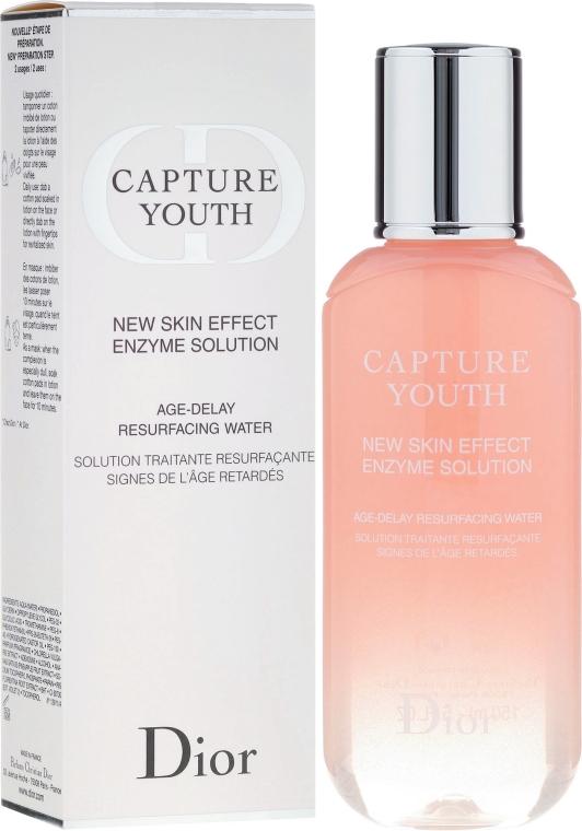 Gesichtslotion zur Entfernung von abgestorbenen Hautzellen - Dior Capture Youth New Skin Effect Enzyme Solution