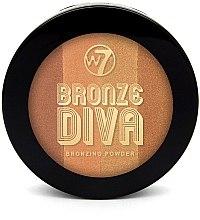 Düfte, Parfümerie und Kosmetik Kompakter Bronzepuder Quartett - W7 Bronze Diva Bronzing Compact Powder