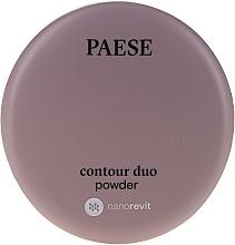 Düfte, Parfümerie und Kosmetik Duo Konturierpuder für das Gesicht - Paese Contour Duo Powder