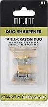 Düfte, Parfümerie und Kosmetik Doppelspitzer - Milani Duo Sharpener