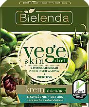 Düfte, Parfümerie und Kosmetik Feuchtigkeitsspendende und entgiftende Tages- und Nachtcreme für trockene und empfindliche Haut - Bielenda Vege Skin Diet
