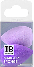 Düfte, Parfümerie und Kosmetik Mini Make-up Schwämmchen lila 2 St. - Tools For Beauty Mini Concealer Makeup Sponge Purple