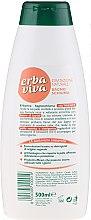 Pflegender Badeschaum mit Sheabutter - Erba Viva Nourishing Bath Foam — Bild N2