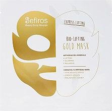 Düfte, Parfümerie und Kosmetik Gesichtsmaske mit Mineralien aus dem Toten Meer - Sefiros Bio-Lifting Gold Mask