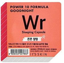 Düfte, Parfümerie und Kosmetik Straffende Schlafmaske für das Gesicht in einer Power-Kapsel - It's Skin Power 10 Formula Goodnight Sleeping Capsule WR