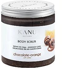 Düfte, Parfümerie und Kosmetik Peelingcreme für den Körper mit Schokolade, Orange und Kaffee - Kanu NatureBody Scrub