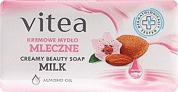Düfte, Parfümerie und Kosmetik Seife mit Mandelöl - Vitea Cream Soap