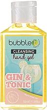Düfte, Parfümerie und Kosmetik Antibakterielles Handgel Gin und Tonic - Bubble T Cleansing Hand Gel Gin & Tonic