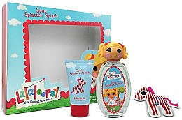 Düfte, Parfümerie und Kosmetik Lalaloopsy Spot Splatter Splash - Kinderset (Eau de Toilette/100ml+Duschgel/75ml+Haarklammer/1 St.)