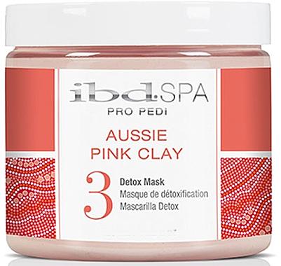 Detox-Maske für Hände und Füße mit rosa Tonerde - IBD Aussie Pink Clay Detox Mask — Bild N1