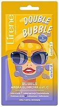 Düfte, Parfümerie und Kosmetik Schaummaske für das Gesicht mit Ton und Vitamin C - Lirene Double Bubble Mask